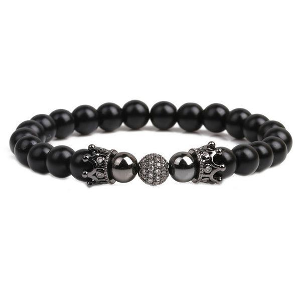 Alloy Fashion Geometric bracelet  (black) NHYL0339-black