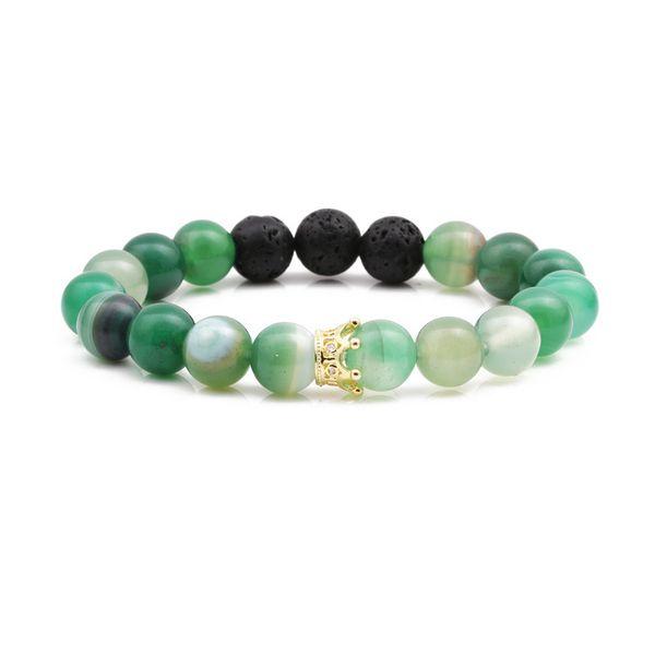 Alloy Fashion Geometric bracelet  (green) NHYL0345-green