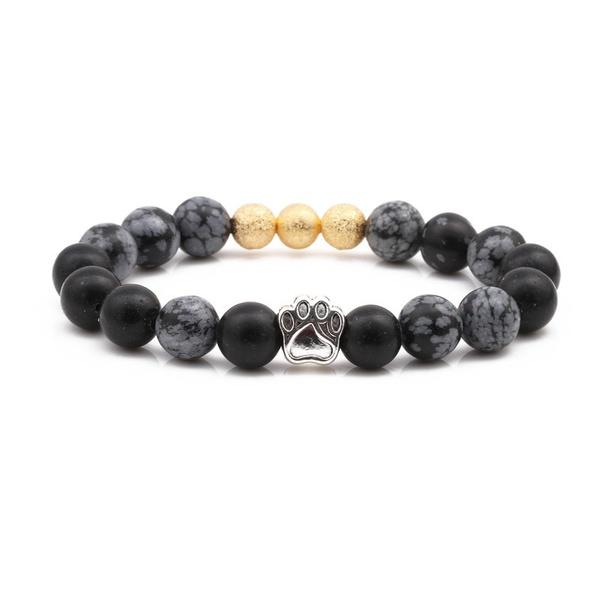 Alloy Fashion Animal bracelet  (Alabaster) NHYL0346-Alabaster