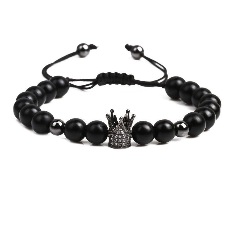 Alloy Fashion bolso cesta bracelet  (black) NHYL0349-black