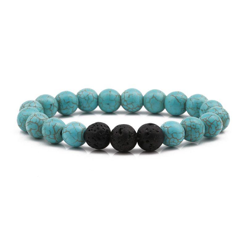 Natural Stone Fashion Animal bracelet  (turquoise) NHYL0352-turquoise