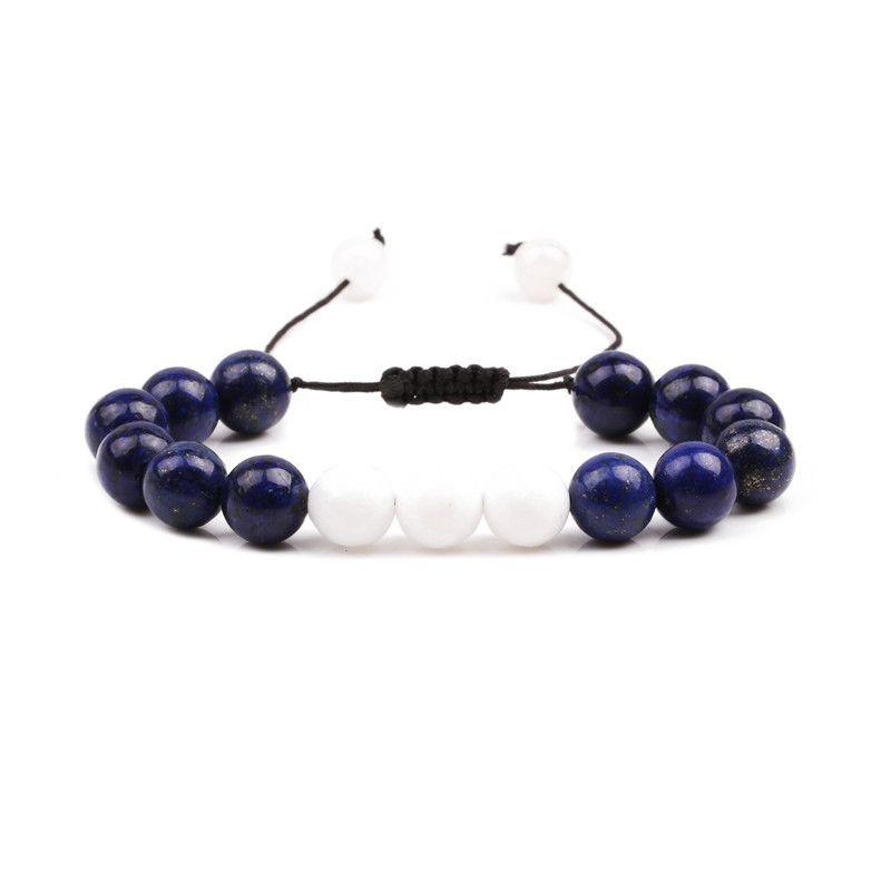 Alloy Fashion bolso cesta bracelet  (Lapis lazuli weaving) NHYL0360-Lapis-lazuli-weaving