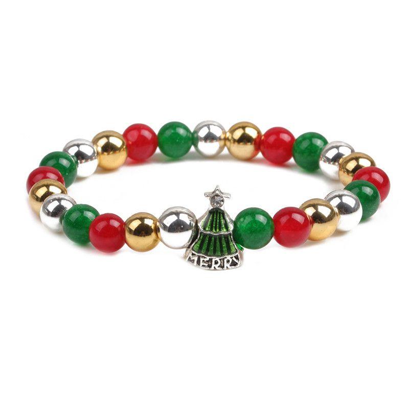 Alloy Fashion Geometric bracelet  (Christmas tree) NHYL0364-Christmas-tree
