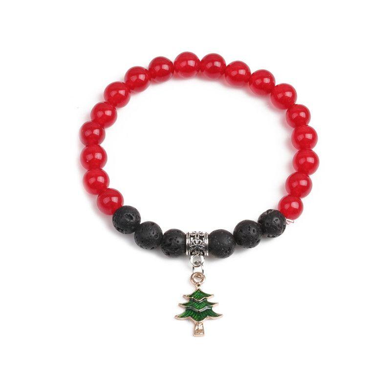 Alloy Fashion Geometric bracelet  (Christmas tree) NHYL0369-Christmas-tree