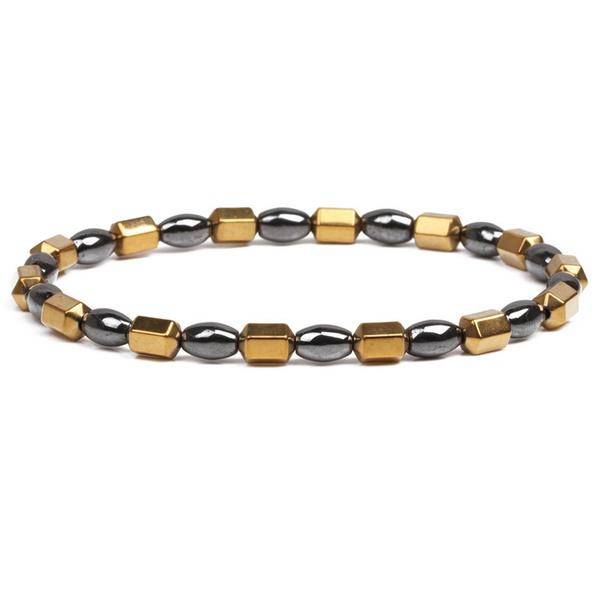 Alloy Fashion Geometric bracelet  (alloy) NHYL0374-alloy