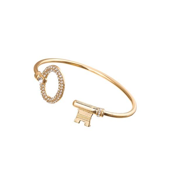 Alloy Fashion Geometric bracelet  (Alloy) NHHN0341-Alloy