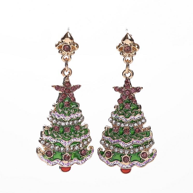 Alloy Fashion Geometric earring  (Main color) NHHN0345-Main-color
