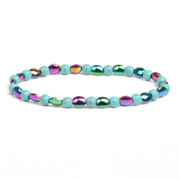 Alloy Fashion Geometric bracelet  (Color + green pine) NHYL0379-Color-green-pine