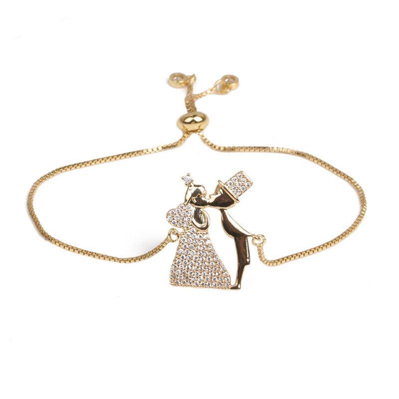Copper Fashion Geometric bracelet  (Alloy) NHYL0393-Alloy