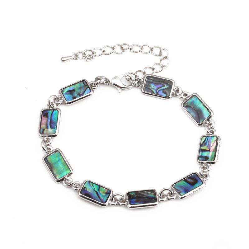 Alloy Simple Geometric bracelet  (rectangle) NHYL0396-rectangle