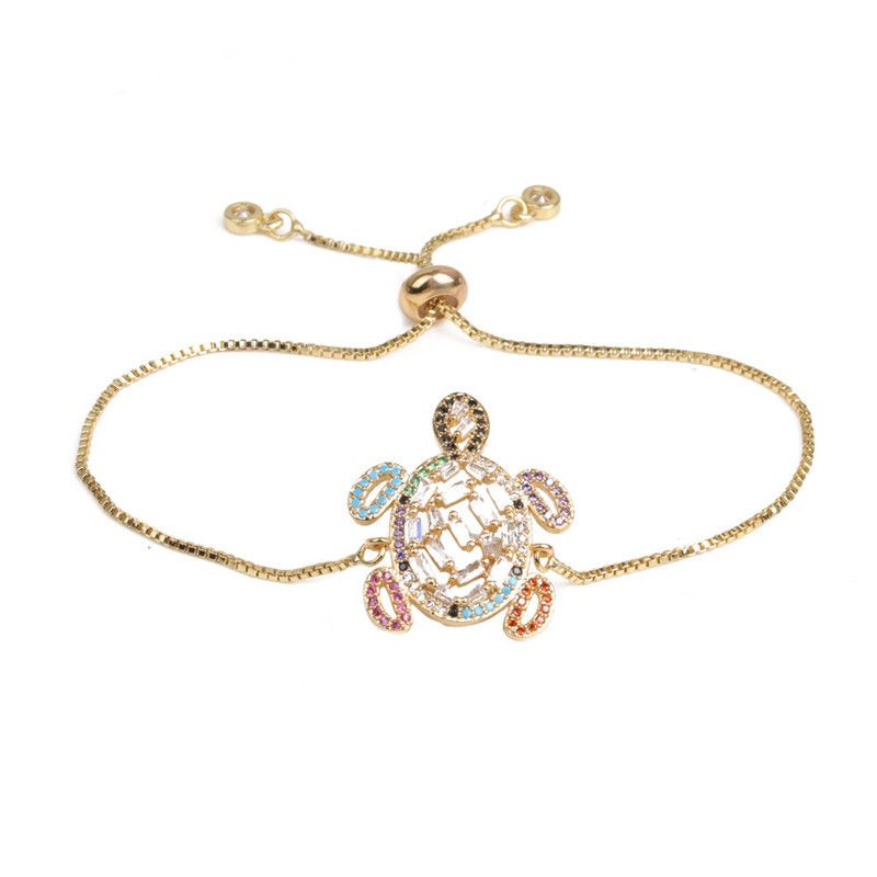 Copper Fashion Geometric bracelet  (Alloy) NHYL0397-Alloy