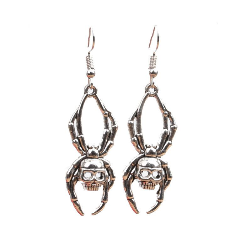 Acrylic Fashion Geometric earring  (spider) NHYL0401-spider
