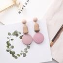 Alloy Korea Geometric earring  A pink NHMS1735Apink