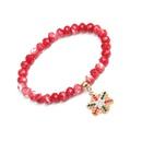 Cristal imit et bracelet gomtrique CZ Fashion cercle de Nol NHYL0332Christmascircle