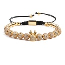 Copper Fashion Skeleton Skull bracelet  Alloy NHYL0373Alloy