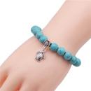 Natural Stone Fashion Cross bracelet  Alloy cross NHYL0382Alloycross