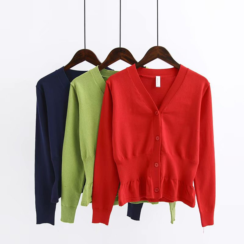 Polyester Fashion  Sweater  (Red-M) NHAM6664-Red-M