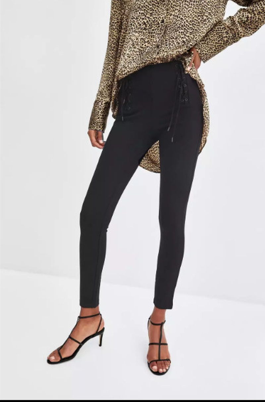 Cotton Fashion  pants  (black-L) NHAM6672-black-L