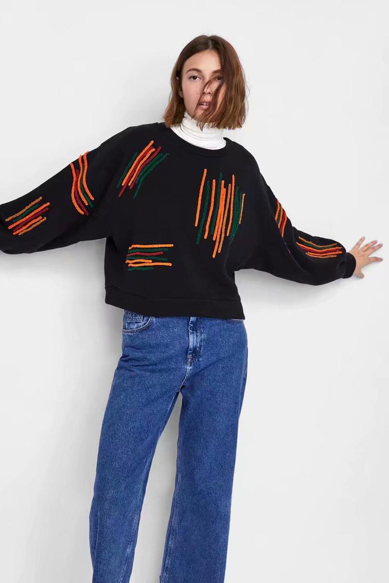 Cotton Fashion  coat  (black-M) NHAM6690-black-M