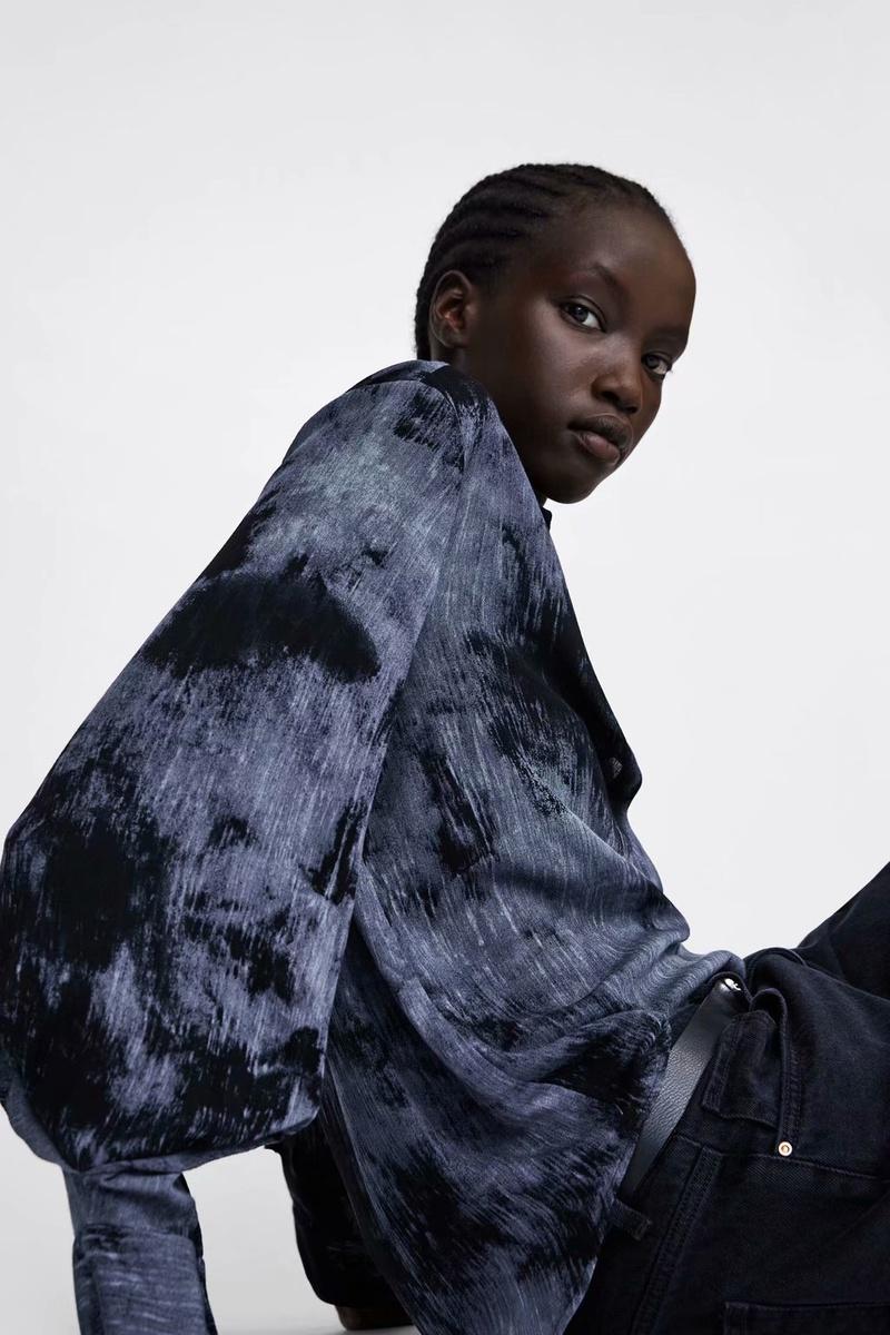 Chiffon Fashion  coat  (Picture color - M) NHAM6691-Picture-color-M