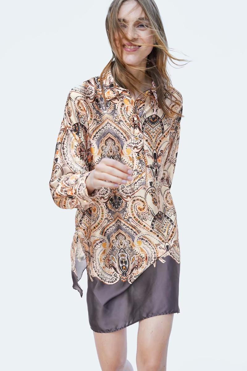 Chiffon Fashion  skirt  (Picture color - M) NHAM6719-Picture-color-M