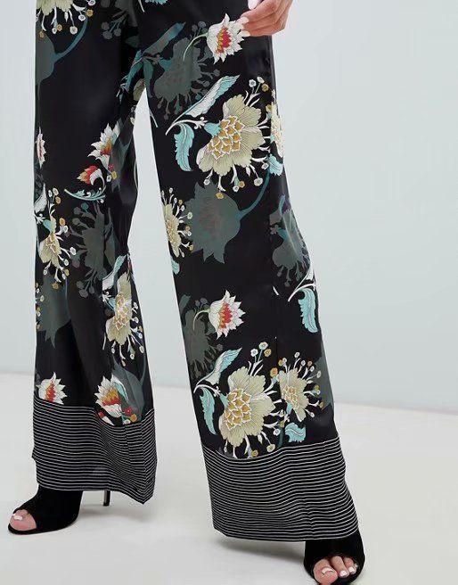 Chiffon Fashion  pants  (Picture color-S) NHAM6757-Picture-color-S