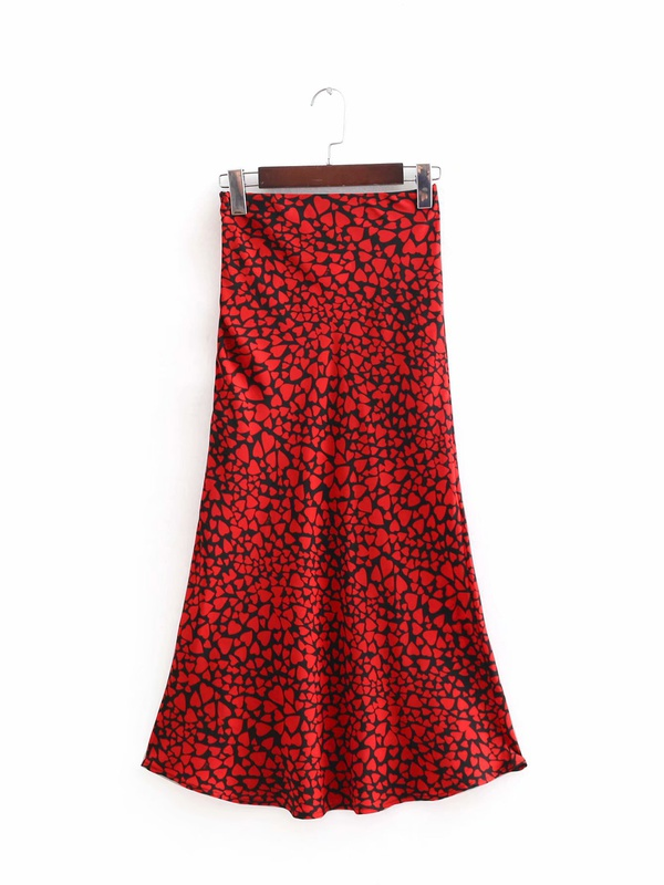 Polyester Fashion  skirt  (Picture color-S) NHAM6758-Picture-color-S