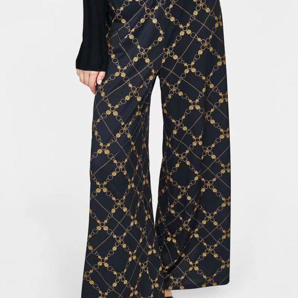 Chiffon Fashion  pants  (Picture color-S) NHAM6759-Picture-color-S