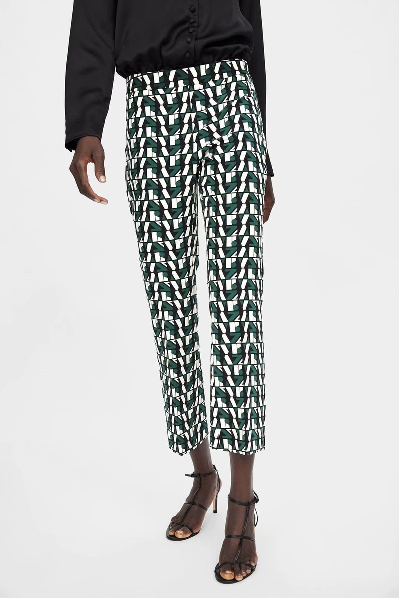 Chiffon Fashion  pants  (Picture color-S) NHAM6760-Picture-color-S