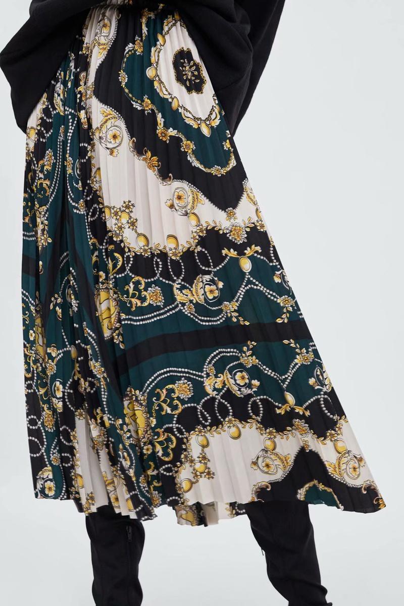 Chiffon Fashion  skirt  (Picture color-S) NHAM6795-Picture-color-S