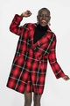 Cloth Fashion  coat  (red-S) NHAM6666-red-S