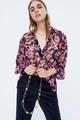Chiffon Fashion  coat  (Picture color - M) NHAM6713-Picture-color-M