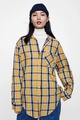 Cotton Fashion  shirt  (Yellow-S) NHAM6744-Yellow-S