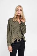 Cotton Fashion  coat  GrayL NHAM6866GrayL