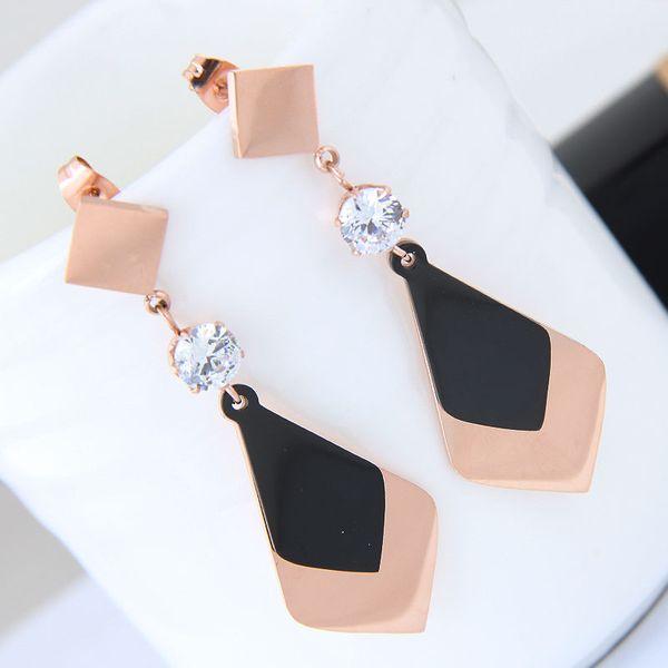 Titanium&Stainless Steel Fashion earring NHNSC14037