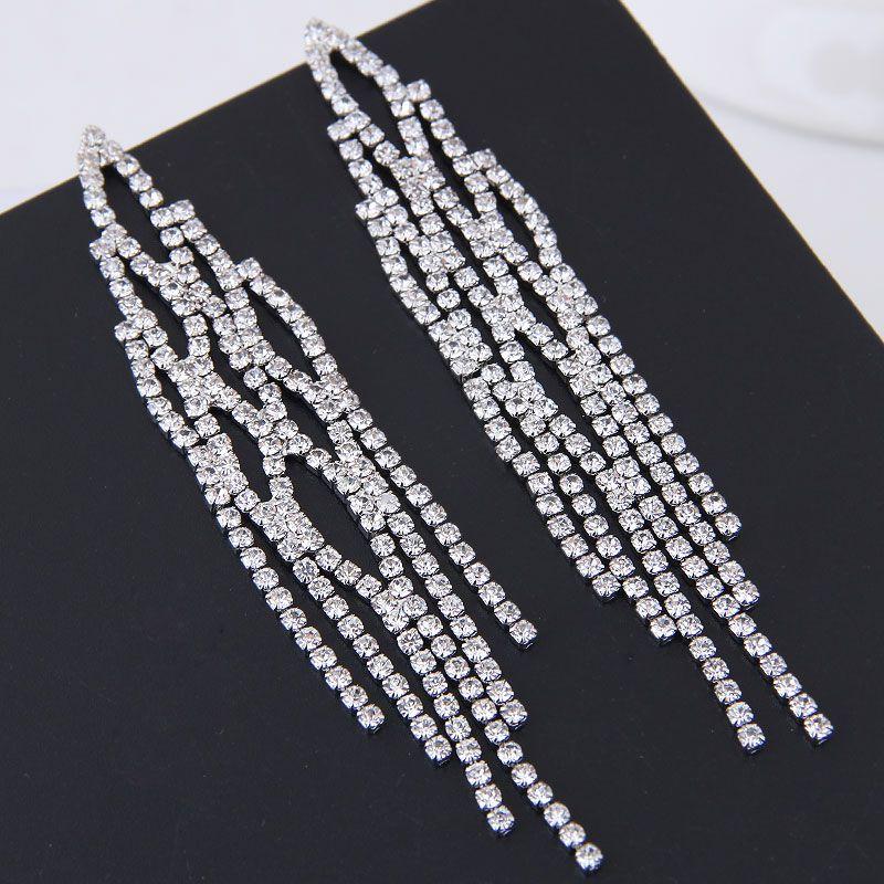 Alloy Fashion earring NHNSC14052