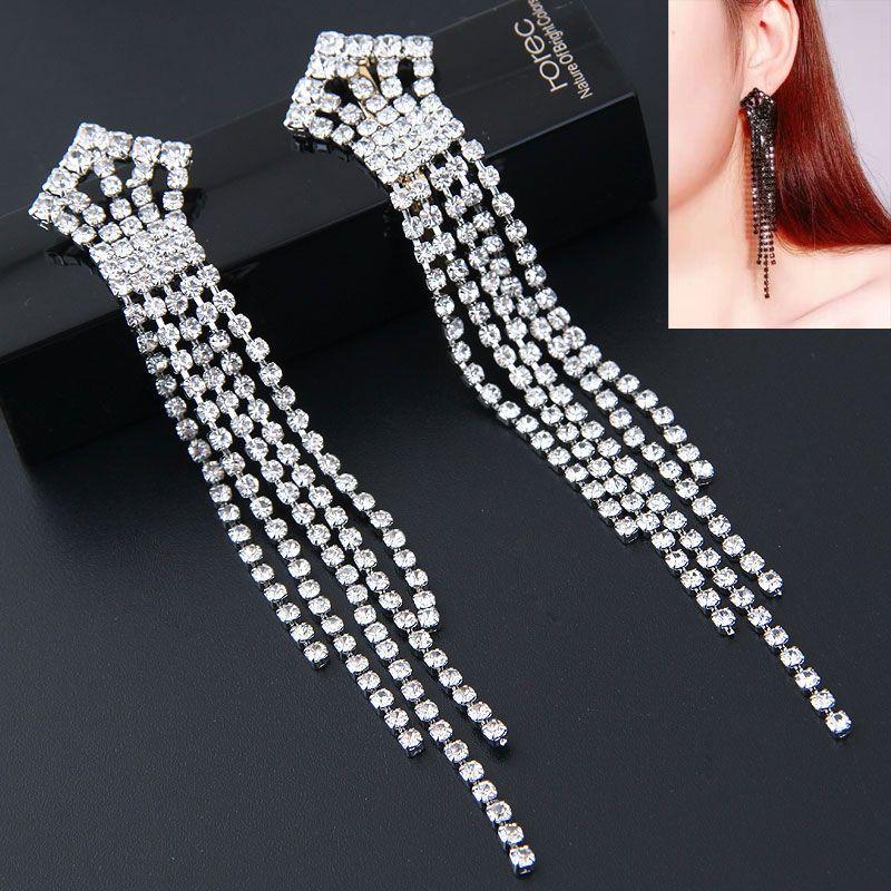 Alloy Fashion earring NHNSC14055