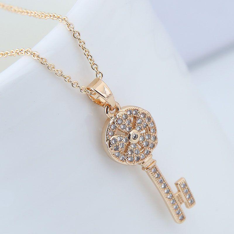 Copper Korea necklace NHNSC14099