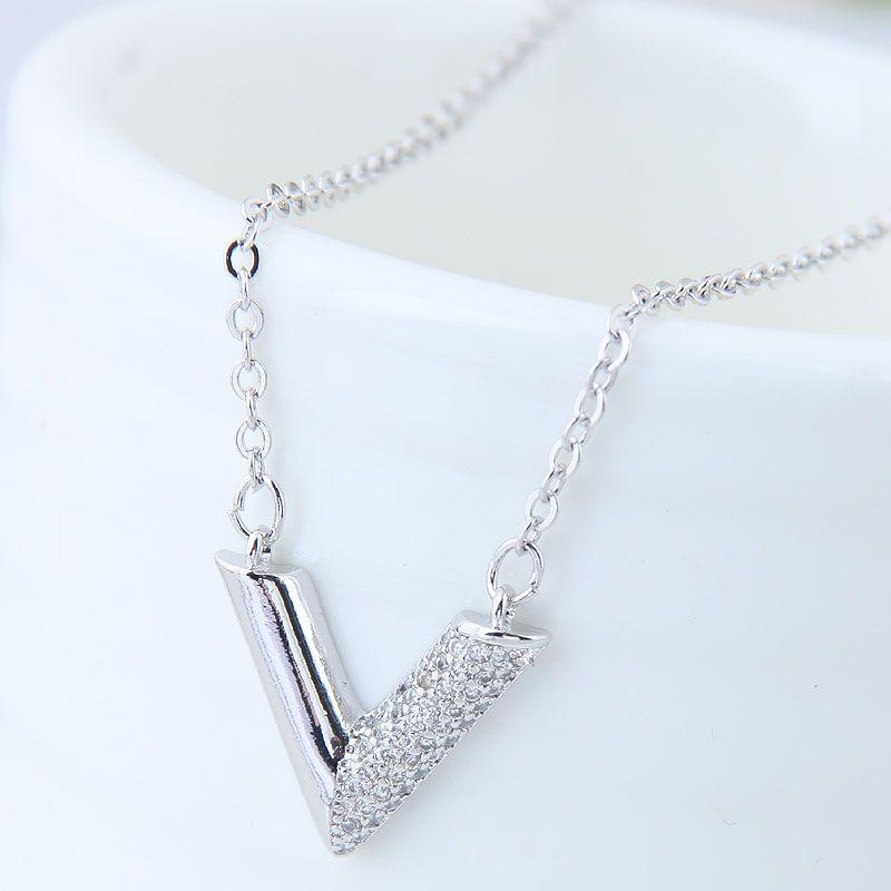 Copper Korea necklace NHNSC14097
