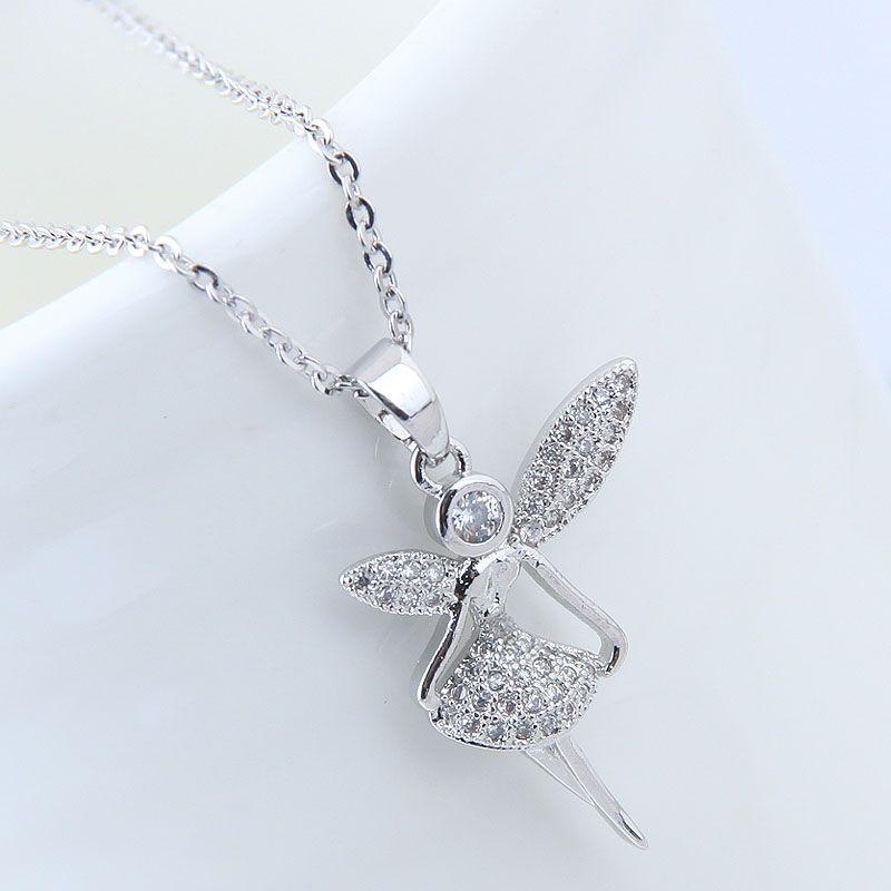 Copper Korea necklace NHNSC14095