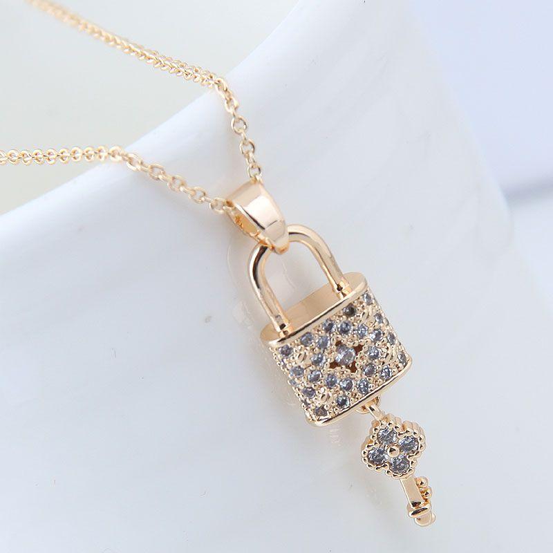 Copper Korea necklace NHNSC14101