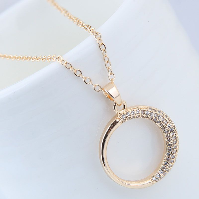 Copper Korea necklace NHNSC14103