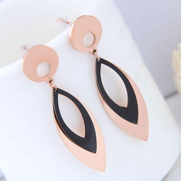 Titanium&Stainless Steel Fashion earring NHNSC14110