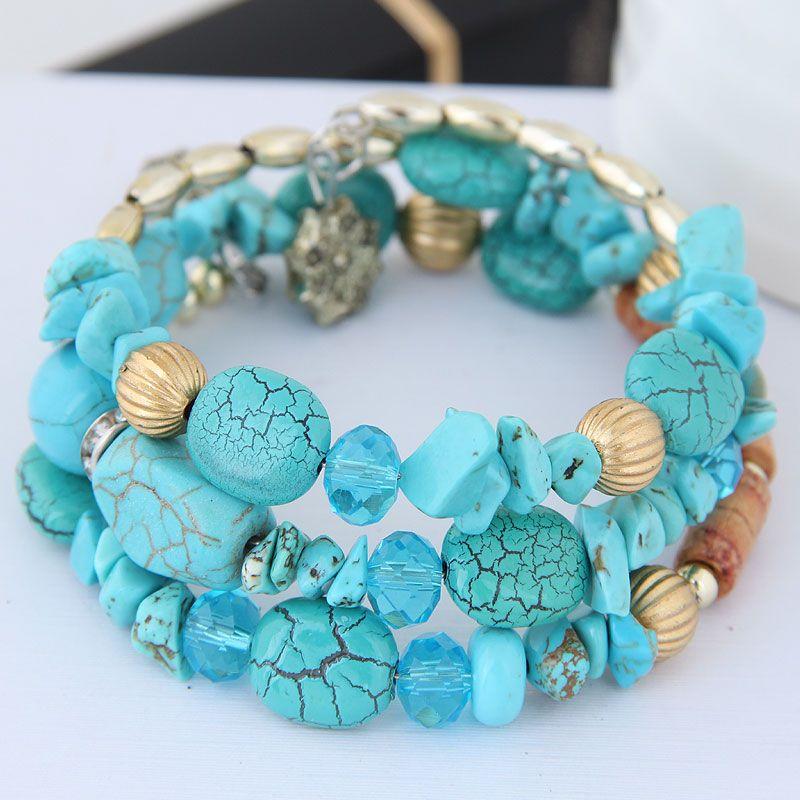 Alloy Fashion Bracelet NHNSC14186