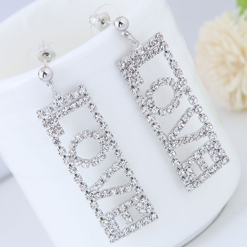 Alloy Fashion earring NHNSC14210