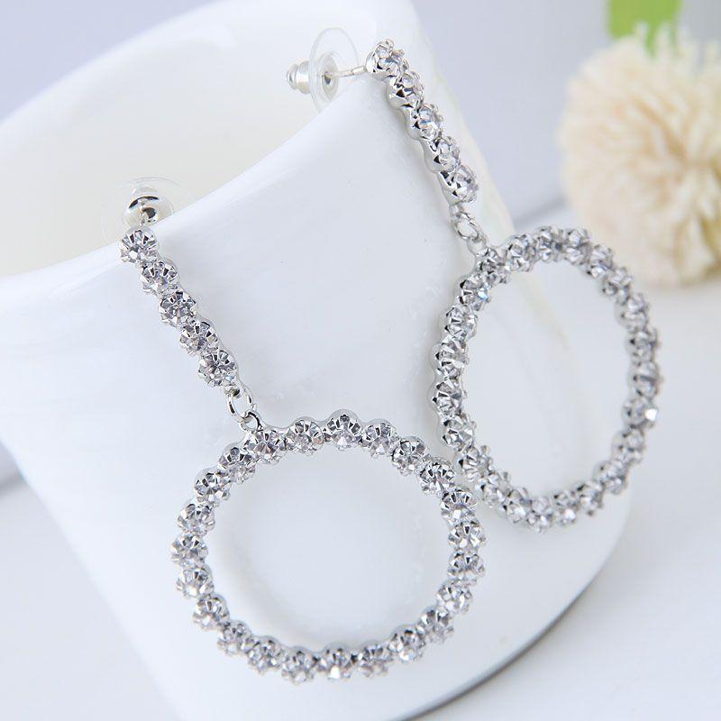 Alloy Fashion earring NHNSC14214