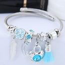TitaniumStainless Steel Fashion Bracelet NHNSC14060
