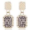 Alloy Fashion earring NHNSC14087