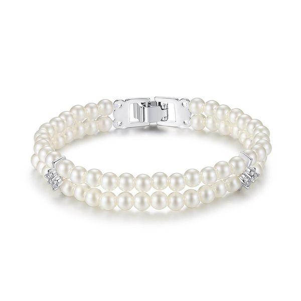 Alloy Fashion Geometric bracelet  (Platinum 18cm-T14D04) NHTM0462-Platinum-18cm-T14D04