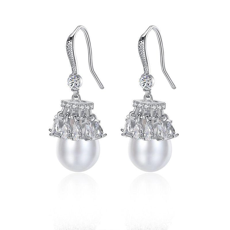 Alloy Korea Tassel earring  (Platinum-T07F18) NHTM0469-Platinum-T07F18